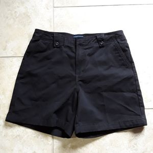 Dockers Womens Black Shorts Size 8